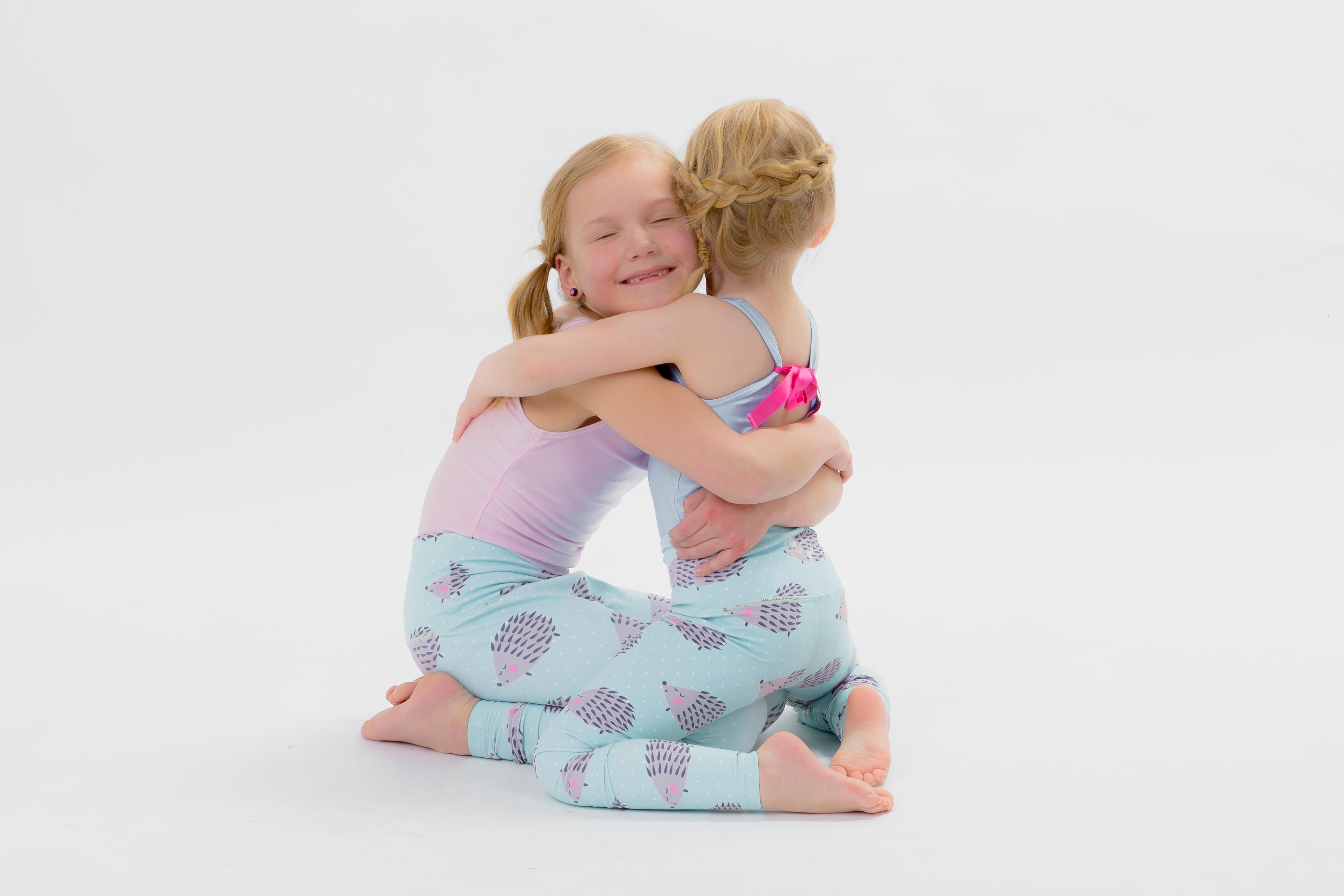 fe8bb50e21 Happy Hedgehog Flexi Yoga Pants Kids and Minis - Starlinedance