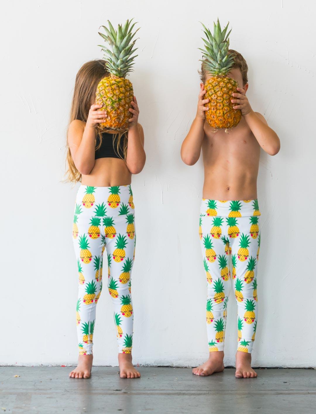 75eaf3c9c8 Pineapple Flexi Yoga Pants Kids and Minis - Starlinedance