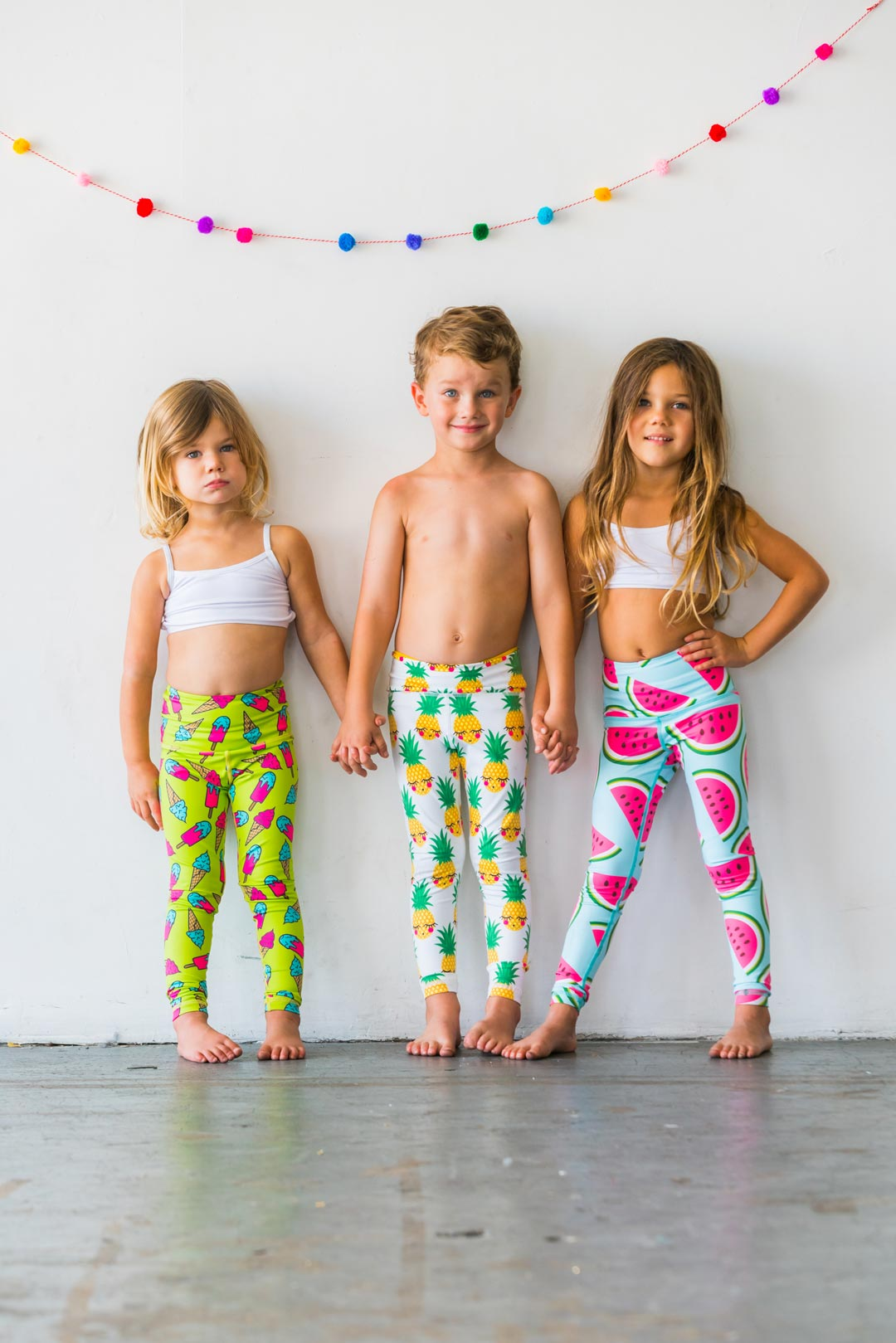 6ef110a007 Relatively Ice Ice Ice-Cream Baby Flexi Yoga Pants Kids and Minis -  Starlinedance PI22