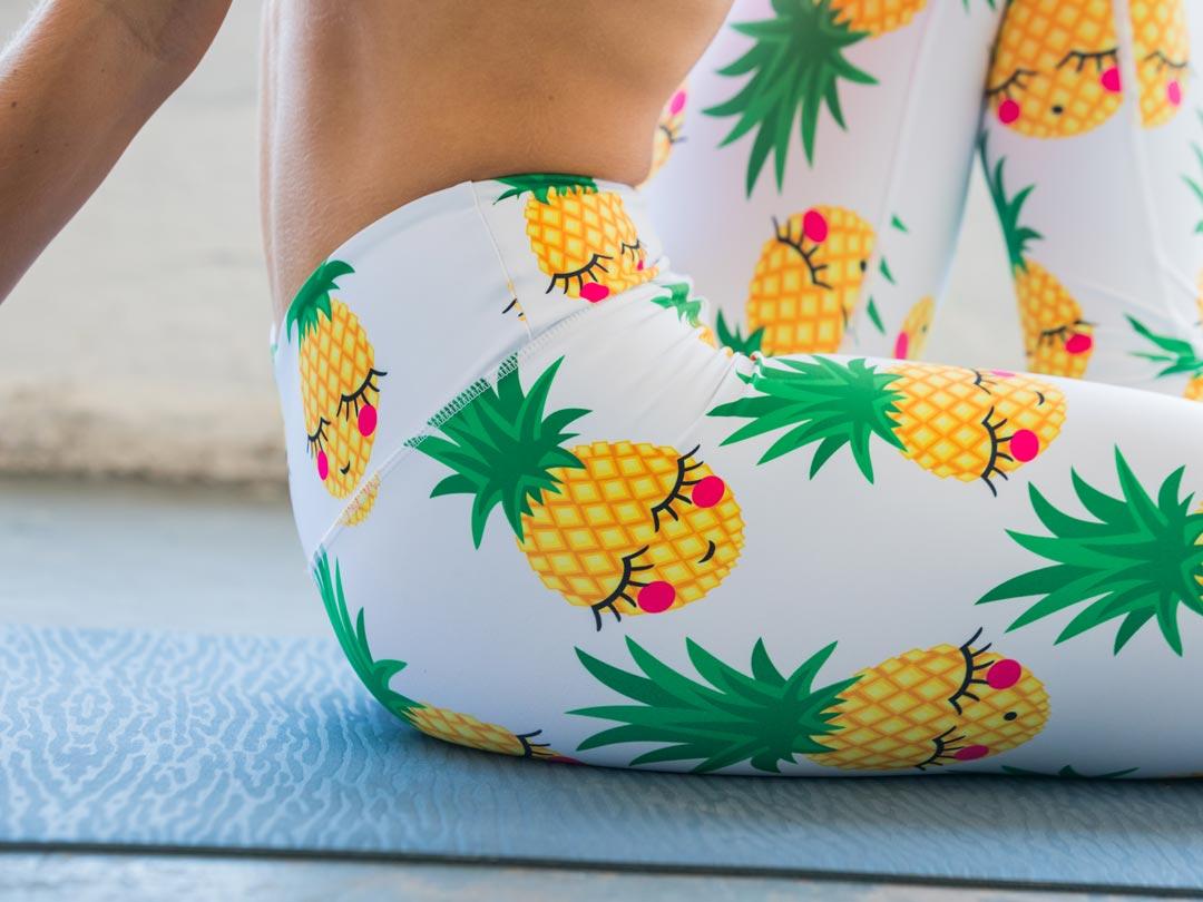 fdada6dc73 Pineapple Flexi Yoga Pants - Starlinedance