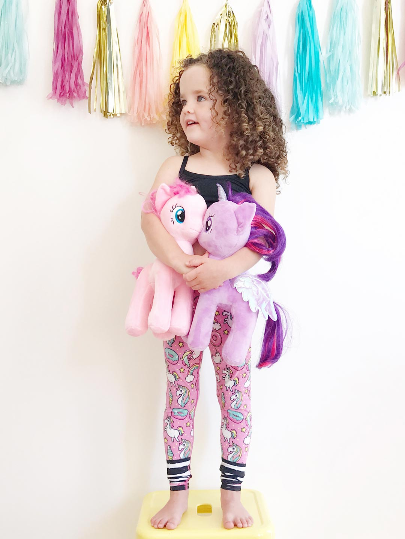 e7840a8707 Rainbow and Unicorn Flexi Yoga Pants Kids and Minis - Starlinedance