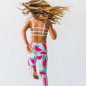 9d4a7b42f0 Watermelon Flexi Yoga Pants Kids and Minis